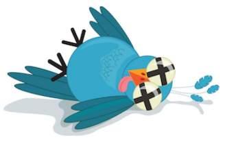 Twitter hecho polvo